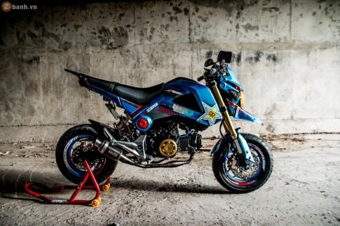 Honda MSX độ phong cách Hypermotard của Biker Tiền Giang