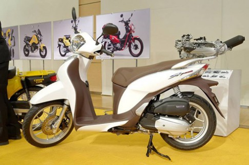 Honda SH Mode - đối thủ Piaggio Liberty ở Việt Nam