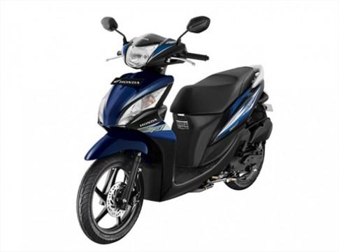 Honda Spacy có màu mới