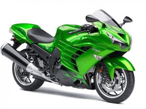 Kawasaki công bố siêu môtô ZZR1400 2012
