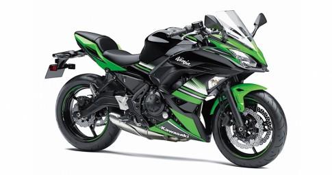 Kawasaki giới thiệu phiên bản hoàn toàn mới của Ninja 650 2017