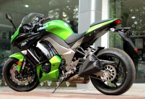 Kawasaki Ninja 1000 2012 đầu tiên tại Việt Nam