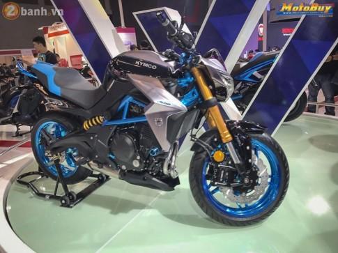 Kymco X Rider 400 mẫu nakedbike hoàn toàn mới được xây dựng dựa trên chiếc Kawasaki ER-6N
