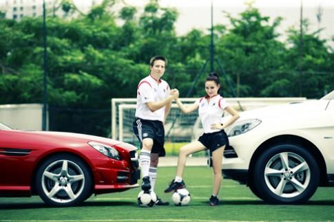 Mercedes ưu đãi 'khủng' nếu Đức vô địch Euro