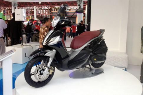 Piaggio ra mắt cặp đôi scooter sport tại Indonesia