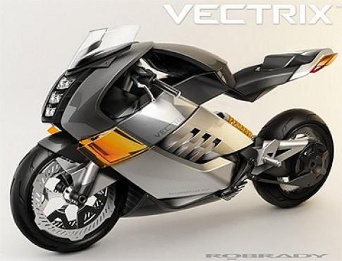 Siêu môtô chạy điện đầu tiên trên thế giới
