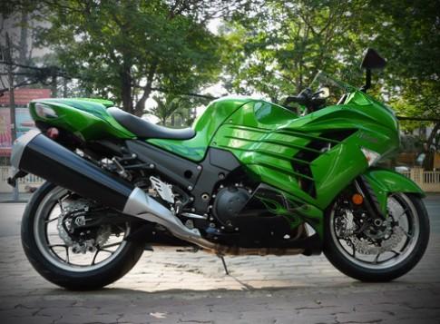 Siêu môtô Kawasaki Ninja ZX-14R 2012 về Việt Nam