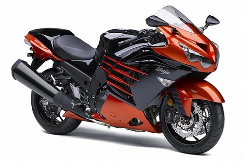 Siêu môtô Kawasaki ZX-14R 2014 ra mắt
