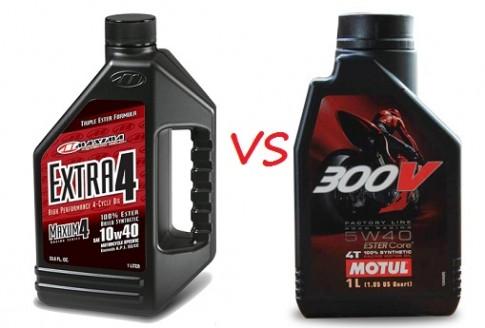 So sánh nhớt Maxima Extra 4 với Motul 300v