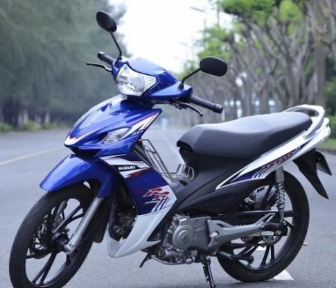 Sống lại đam mê 'tay côn' cùng Suzuki Axelo 125