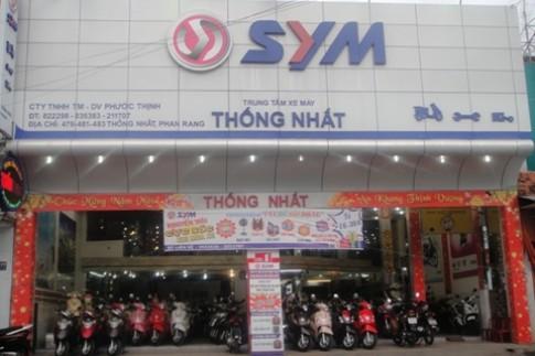 SYM tập trung vào thị trường xe 50 phân khối