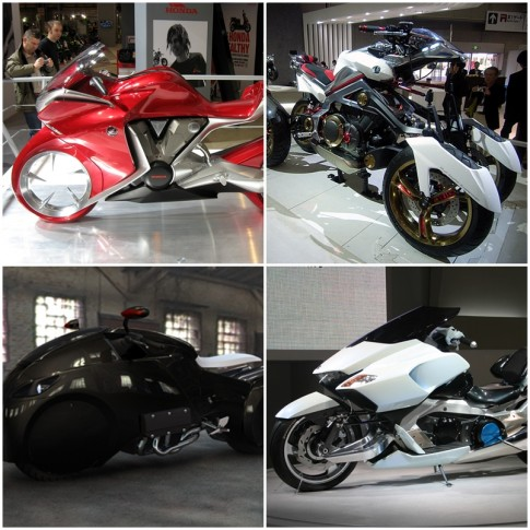 Top những mẫu xe mô tô độc nhất vô nhị cho tương lai