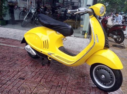 Vespa 946 màu vàng độc nhất Việt Nam