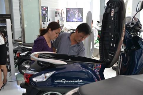 Yamaha Grande ra mắt tại VN