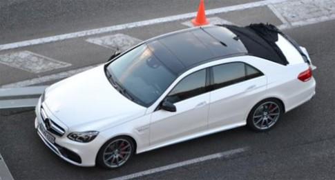 Ảnh đầu tiên của Mercedes E-class 2014