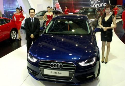 Audi A4 2013 có giá trên 1,5 tỷ đồng