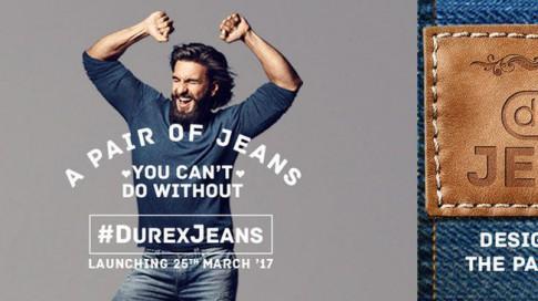 Không chỉ mỗi bao cao su, Durex còn có quần jeans nữa