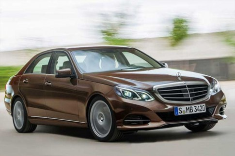 Lộ ảnh Mercedes E-class 2014