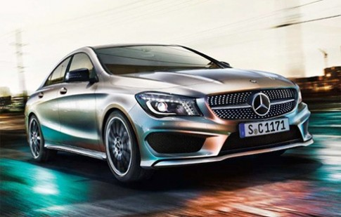 Mercedes CLA lần đầu lộ diện