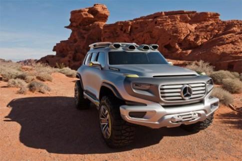 Mercedes Ener G Force - tương lai hầm hố của G-class