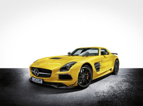 Mercedes trình làng SLS AMG Black Series