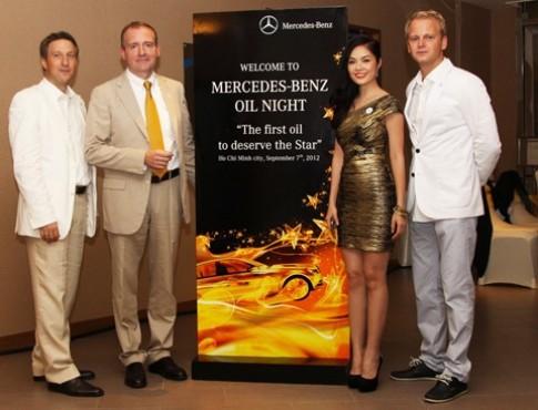 Mercedes Việt Nam giới thiệu dầu động cơ chính hãng