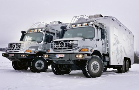 Mercedes Zetros - nhà di động cho triệu phú