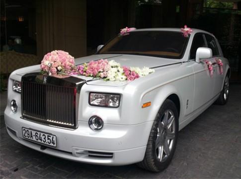 Phantom đặc biệt trong lễ rước dâu tại Hà Nội