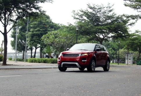 Range Rover Evoque - xe địa hình điệu đà