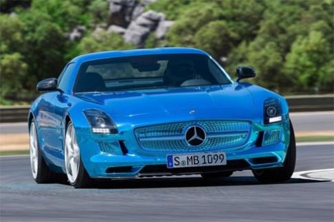 Siêu xe điện Mercedes SLS AMG giá nửa triệu đô