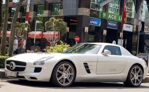 Siêu xe Mercedes SLS AMG duy nhất tại Việt Nam