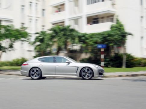 Tăng tốc với Porsche Panamera V6