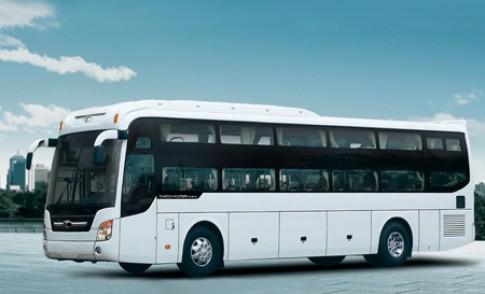 Trường Hải giới thiệu xe khách giường nằm Hyundai