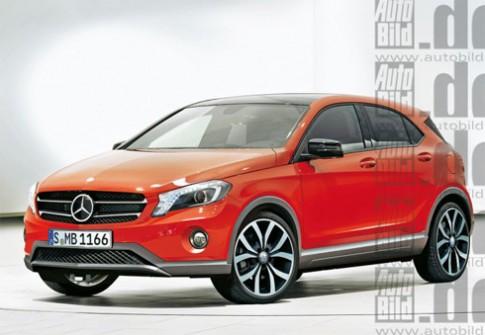 Có thể xuất hiện xe cỡ nhỏ Mercedes X-class