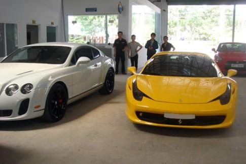 Dàn siêu xe Việt đi 'khám bệnh'