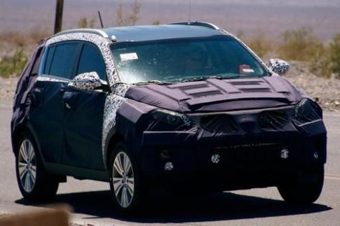 Kia Sportage lộ diện phiên bản mới