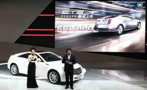 Những mẫu xe sang đắt khách tại Trung Quốc