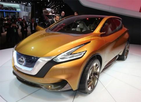 Nissan Murano sẽ hầm hố hơn