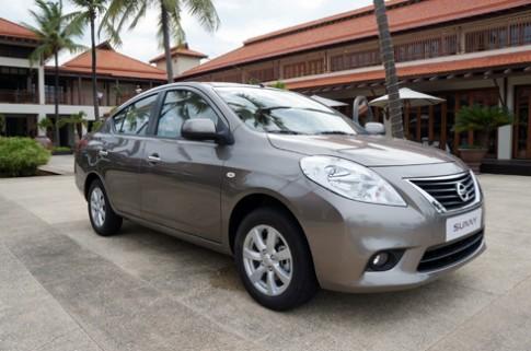 Nissan Sunny giá từ 518 triệu đồng tại Việt Nam