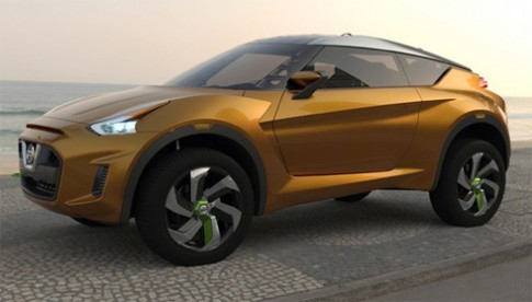 Nissan trình làng crossover concept mới