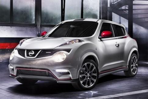 Nissan tung ảnh Juke Nismo
