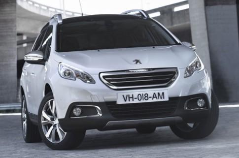 Peugeot 2008 - xe lý tưởng cho các Facebooker