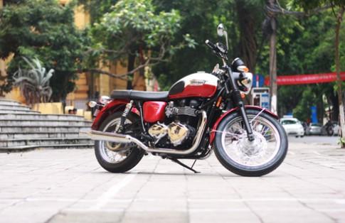 Triumph Bonneville T100 2013 cổ điển giữa Hà Nội