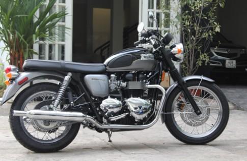Vẻ đẹp hoài cổ Triumph Bonneville T100