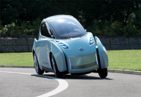 Xe điện lạ mắt Nissan Land Glider sắp được sản xuất