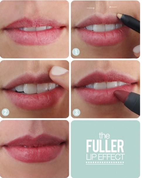 7 bước để có đôi môi gợi cảm khó cưỡng