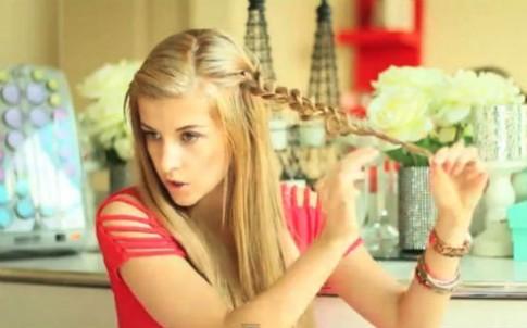 Biến tấu 3 kiểu tóc tết trong 3 phút