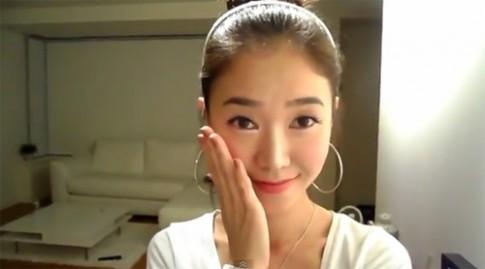 Học cách trang điểm của Song Kye Hyo