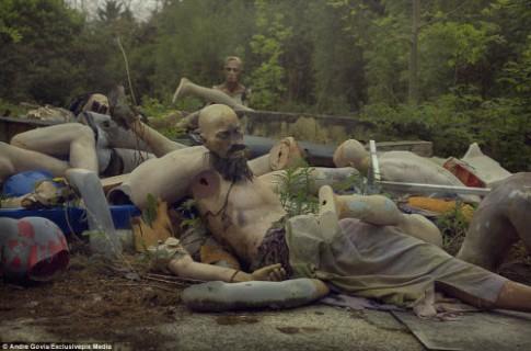 Khám phá nghĩa địa ma nơ canh bỏ hoang đáng sợ
