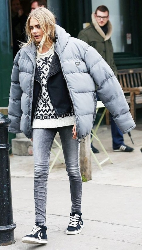 Kiểu áo khoác này không biến bạn thành gấu đâu mà sợ!